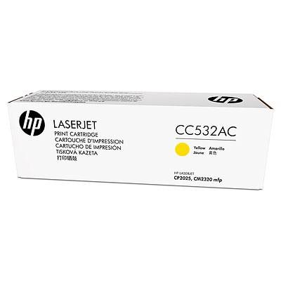 HP 304A CC532AC Sarı Toner