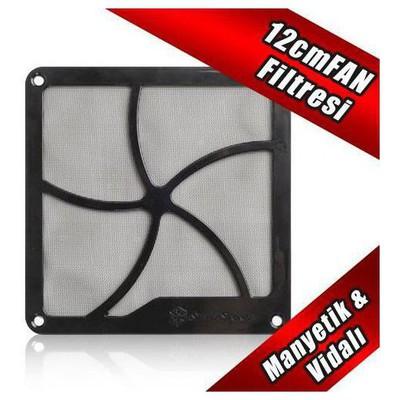 Silverston Sst-ff122b Silverstone 12cm Mıknatıslı Siyah  Filtresi Fan