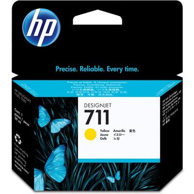 HP 711 Sarı CZ132A Kartuş