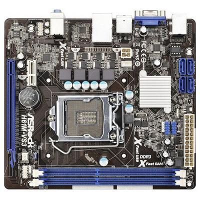 Asrock H61M-VS DDR3 VGA LAN 1155P Anakart