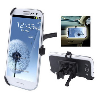 Microsonic Klipsli Radyator Izgaralık Araç Içi Tutucu Samsung Galaxy I9300 S3 Cep Telefonu Aksesuarı