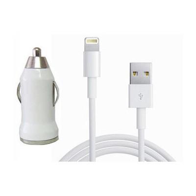 Microsonic Lightning iPad Phone iPod 3in1 şarj aleti (Araç+Priz+Data Kablosu) Dönüştürücü Kablo