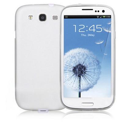Microsonic 0.2mm Ultra Ince Kılıf Samsung Galaxy S3 I9300 Beyaz Cep Telefonu Kılıfı