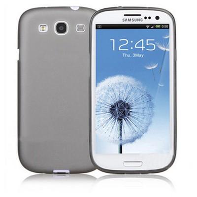 Microsonic 0.2mm Ultra Ince Kılıf Samsung Galaxy S3 I9300 Gri Cep Telefonu Kılıfı