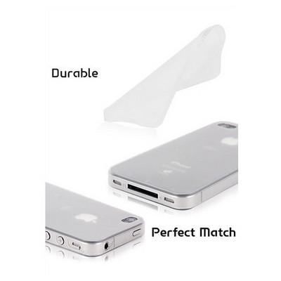 Microsonic 0,35mm Ultra Ince Iphone 4 / 4s Kılıfı Siyah Cep Telefonu Kılıfı