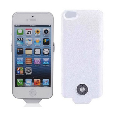 Microsonic  Iphone 5 & 5s Şarjlı Kılıf (2500mah) Beyaz
