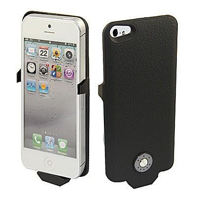 Microsonic Iphone 5 & 5s Şarjlı Kılıf (2500mah) Siyah Cep Telefonu Kılıfı