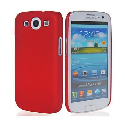 Microsonic Rubber Kılıf Samsunng Galaxy S3 I9300 Kırmızı Cep Telefonu Kılıfı