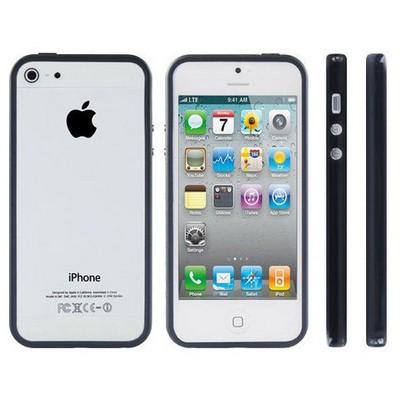 Microsonic Iphone 5 & 5s Bumpers Çerçeve Kılıf Siyah Cep Telefonu Kılıfı