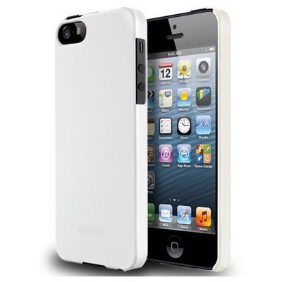 Microsonic Iphone 5 & 5s Rubber Kılıf Beyaz Cep Telefonu Kılıfı