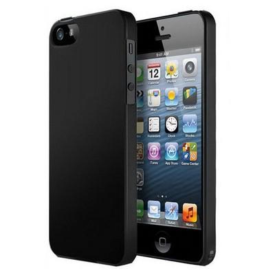 Microsonic Iphone 5 & 5s Rubber Kılıf Siyah Cep Telefonu Kılıfı