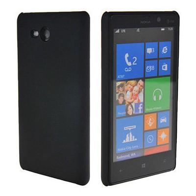 Microsonic Rubber Kılıf Nokia Lumia 820 Siyah Cep Telefonu Kılıfı