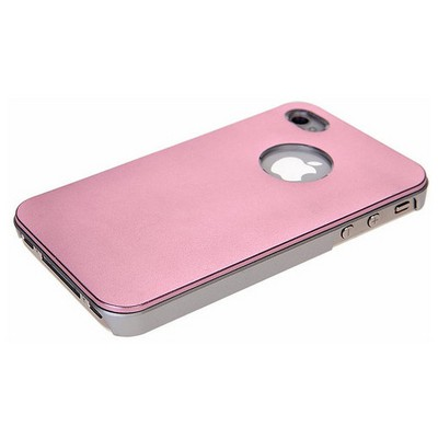 Microsonic Metallic Air Slim Case Iphone 5 & 5s Kılıf Pembe Cep Telefonu Kılıfı