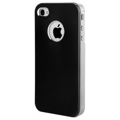 Microsonic Metallic Air Slim Case Iphone 5 & 5s Kılıf Siyah Cep Telefonu Kılıfı