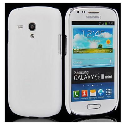 Microsonic Rubber Kılıf Samsung Galaxy S3 Mini I8190 Beyaz Cep Telefonu Kılıfı