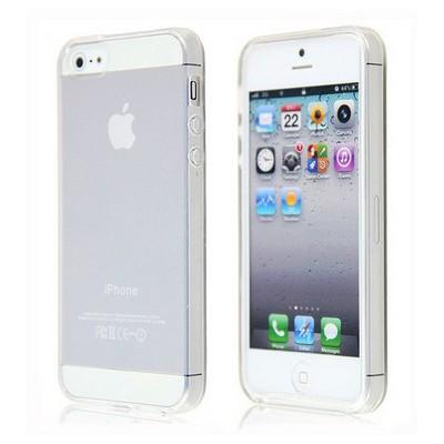 Microsonic Iphone 5 & 5s Anti-shock Soft Kılıf Şeffaf Cep Telefonu Kılıfı