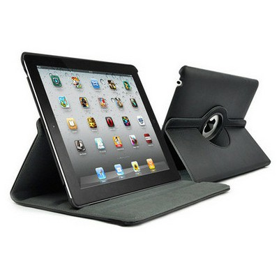 Microsonic 360 Rotating Stand Deri Kılıf The New Ipad 3 Tablet Kılıfı