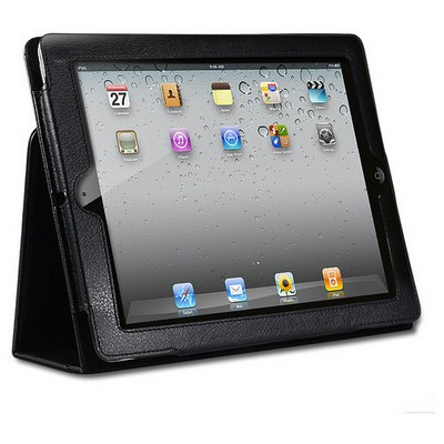 Microsonic Kickstand Leather Case Stand Özellikli Ipad2 Deri Kılıfı Tablet Standı