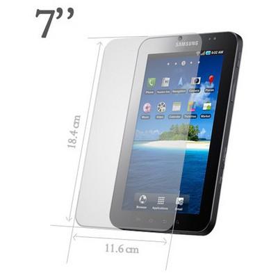 Microsonic 7'' Tablet Universal Ekran Koruyucu Şeffaf Film Ekran Koruyucu Film