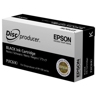 Epson Discproducer Ink Cartridge Black Toner