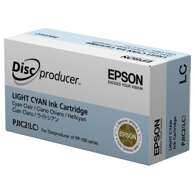 Epson Discproducer Ink Cartridge Light Cyan Toner