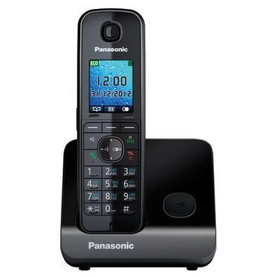 Panasonic Kx-Tg-8151-Siyah Siyah Büyük Ekranlı Telsiz Telefon