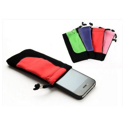 Microsonic Universal Pouch Case Likralı Kılıf Cep Telefonu Kılıfı