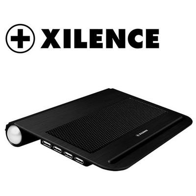"""Xilence Coo-xplp-v12.b Siyah, 12"""", 4 Port Usb, Notebook Soğutucu"""