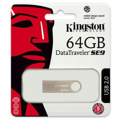 Kingston 64GB DataTraveler DTSE9H USB Bellek