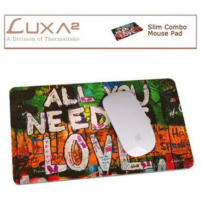 Luxa2 Slim Combo Mouse Pad