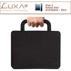 Luxa2 Rimini Ipad 2/3 Deri Kılıf/stand - Mavi Tablet Standı