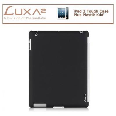 Luxa2 Ipad 3 Tough Case Plus Plastik Kılıf - Siyah Tablet Kılıfı