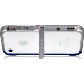 Luxa2 Iphone Alum Armor Aluminyum Kılıf - Siyah Altın Cep Telefonu Kılıfı