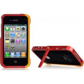 Luxa2 Iphone Alum Armor Aluminyum Kılıf - Kırmızı Altın Cep Telefonu Kılıfı