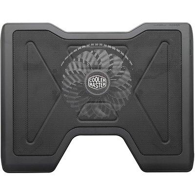 """Cooler Master CM NOTEPAL X2 17"""" 14cm Mavi Ledli Fanlı, Fan Kontrollü, 2xUSB2.0 Portlu, Notebook Soğutucu"""