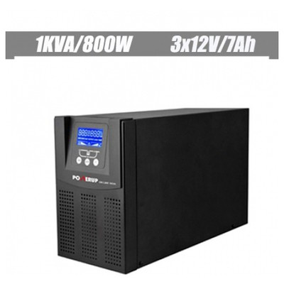 Powerup 1 Kva Pro Serisi Onlıne Lcd Ups Kesintisiz Güç Kaynağı