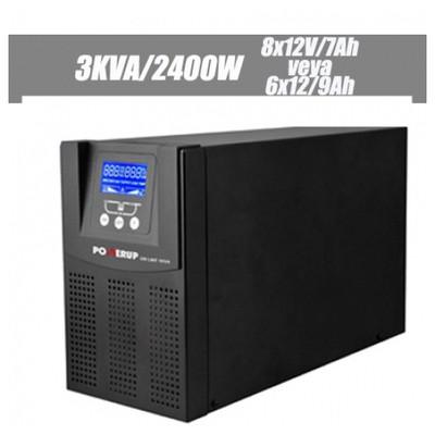 Powerup 3kVA Kesintisiz Güç Kaynağı (UPS-POT-1203)