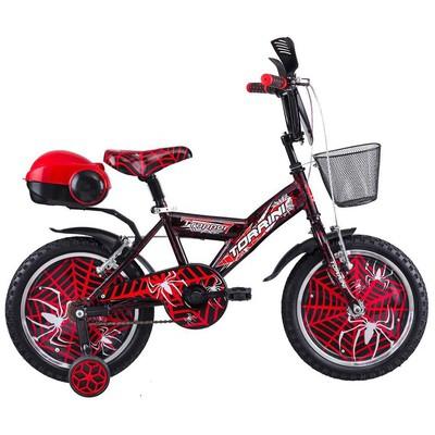 Tunca Torrini Trapper Spider 16 Jant 4 - 7 Yaş Çocuk i - Kırmızı Bisiklet