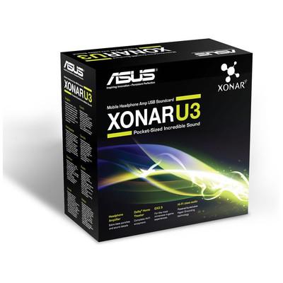 Asus XONAR U3 UAD USB 2.0 SES KARTI Ses Kartı