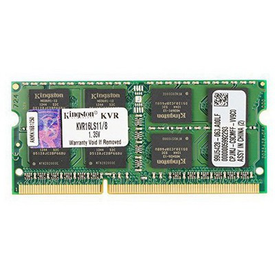 Kingston 8GB Notebook Bellek - KVR16LS11/8