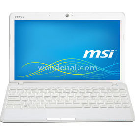 "MSI , BEYAZ, AMD C-70, 2GB, 500GB, HD6290, 11.6"", FREE DOS U270DX-019XTR Laptop"