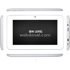 Hi-Level T703 ANLOGIC 8726-M3 1.0GHZ 1GB 16G 7'' TABLET KALEM+KILIF -BEYAZ Tablet