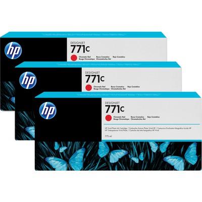 HP B6Y32A 771C 3'lü Kromatik Kırmızı Kartuş