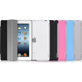 Luxa2 Ipad 3 Tough Case Plus Plastik Kılıf - Mavi Tablet Kılıfı