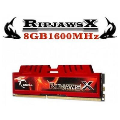 G.Skill RipjawsX 8GB Desktop Bellek (F3-14900CL10S-8GBXL)