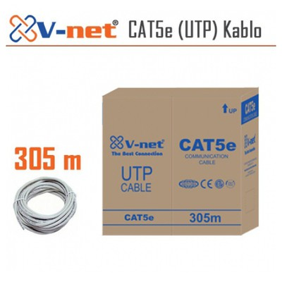 V-net Cat5e (utp) Kablo 305mt Network Kablosu