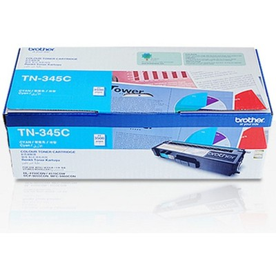 Brother TN-345C Mavi Toner