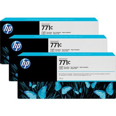 HP B6Y37A 771C 3'lü Siyah Kartuş