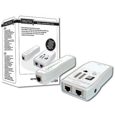 Digitus Dn-14001 Cat5/cat6 Uyumlu Kablo Test Cihazı Ağ / Modem Aksesuarı
