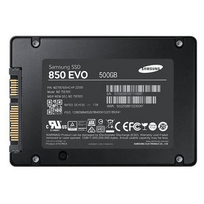 Samsung 500gb 850 Evo SSD - MZ-75E500BW